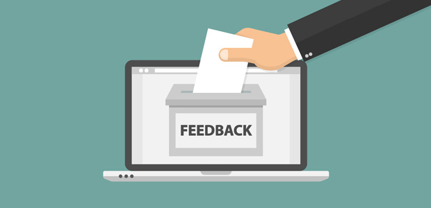 Get feedback from visitors